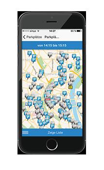ampido die parkplatz app kostenlos f r android ios. Black Bedroom Furniture Sets. Home Design Ideas