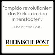 Ampido app revolutioniert parkplatzsuche rheinische post