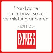 Parkplatz vermieten geld verdienen ampido express