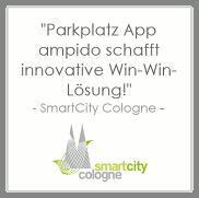 Parkraummanagement ampido smartcity cologne